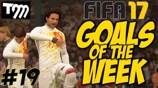 Top 10 Goals - Fifa 17 - TOP 10 GOALS OF THE WEEK #19