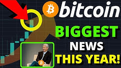 WATCH OUT!!!! MOST BULLISH BITCOIN NEWS THIS YEAR!! BITCOIN TO $100,000 THIS YEAR??