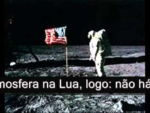 Resultado de imagem para O homem nunca pisou na Lua