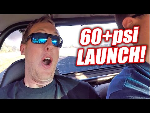 Diesel Newb Scared By 60+PSI AWD Launch!