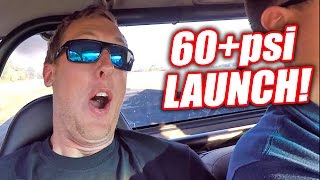 Download Diesel Newb Scared By 60+PSI AWD Launch! Mp3 and Videos