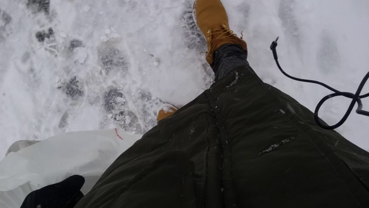 details for dependable performance professional website Timberland Boots in the snow on feet