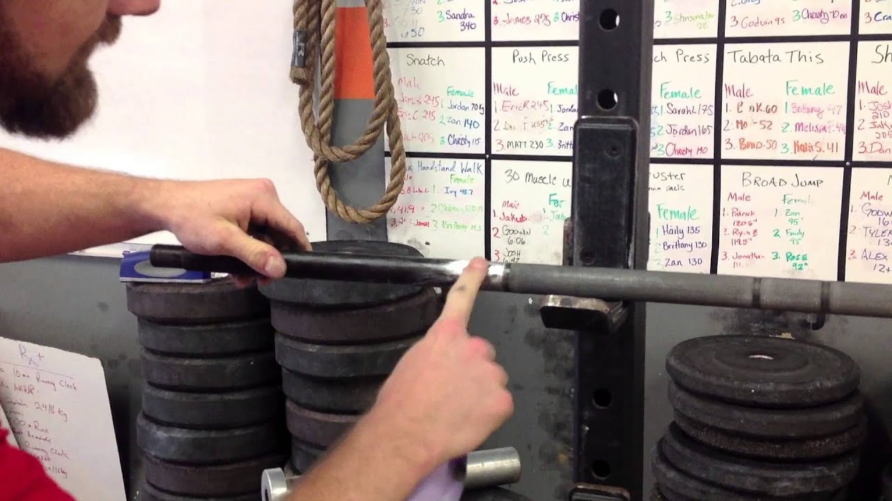 How to make a barbell 56