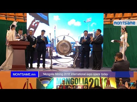 'Mongolia Mining 2018' international expo opens today
