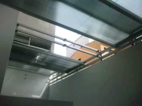 techo de policarbonato corredizo - miraflores peru - youtube