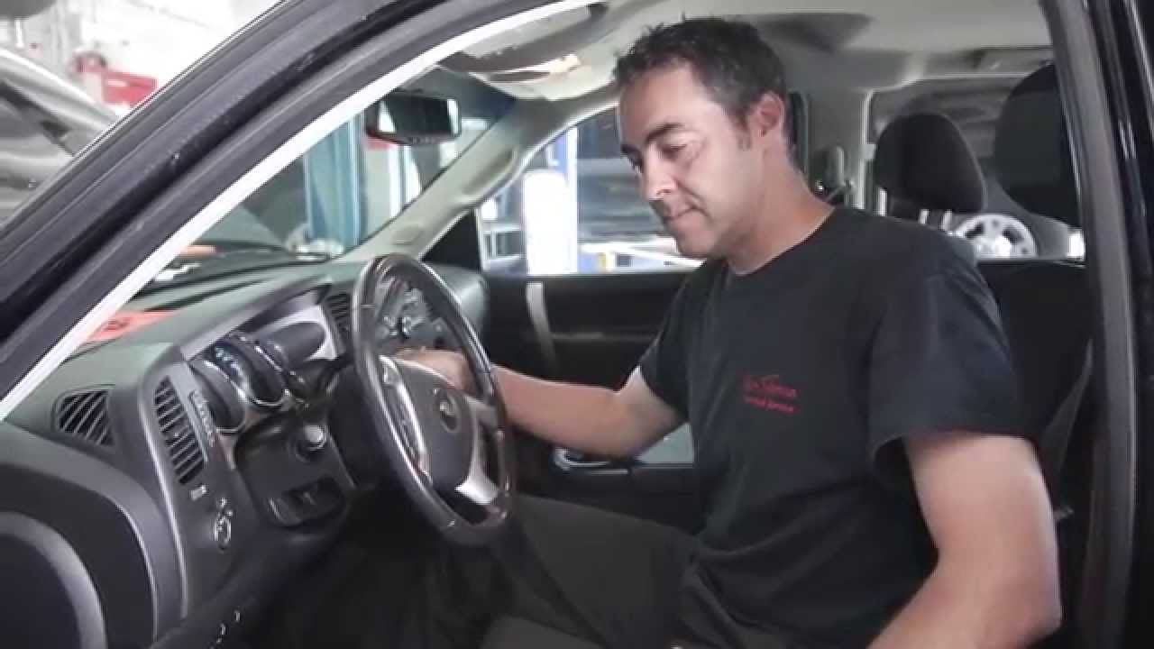 Diesel Fuel Filter Maintenance Jim Tubman Chevrolet Youtube 2007 Gmc Location