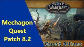 Riesige Reuse WoW Quest Mechagon by iZocke