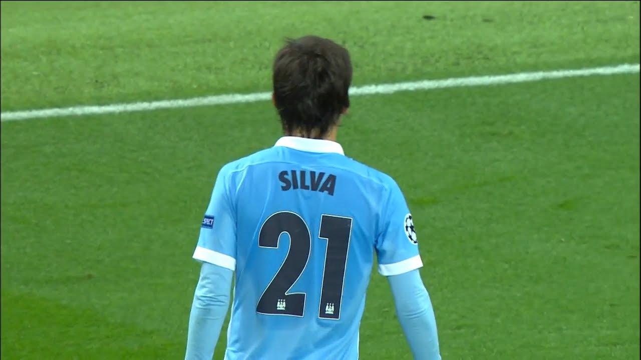 David Silva vs Juventus H 2015 2016 UCL HD