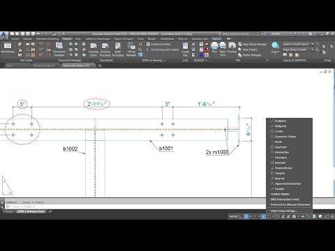 Advance Steel 2019 new feature - Enhanced Drawing Update Behavior