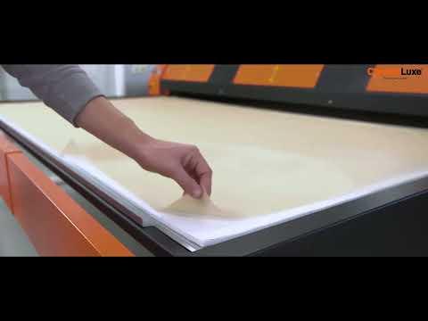 ChromaLuxe Metal Prints Sublimation Process