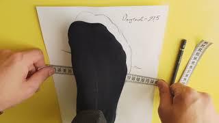 Как снимать мерки стопы для заказа обуви ручной работы в мастерской KREPKO