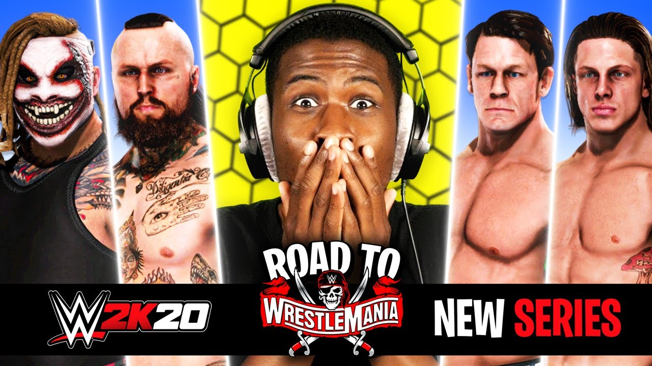 Download WWE 2K20 NEW SERIES: The Road To WrestleMania Begins!