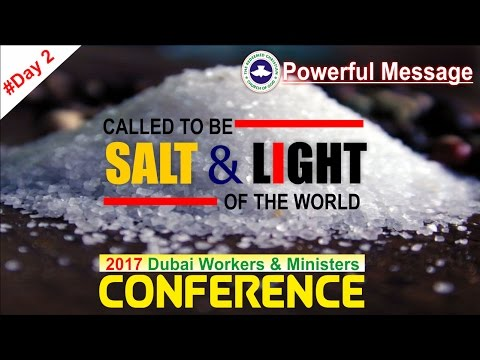 Powerful Message_ CALLED TO BE SALT & LIGHT OF THE WORLD