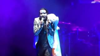 Marilyn Manson/Smashing Pumpkins tour – Stone Sour, we die young – Thy Art is Murder, Holy War