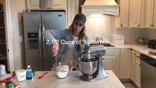 How To-Pumpkin Sour Cream Spice Cake: Neurotic Mom Bakes