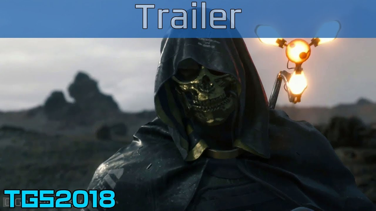 Death Stranding обзавелась новым трейлером! Он посвящен загадочному человеку в золотой маске