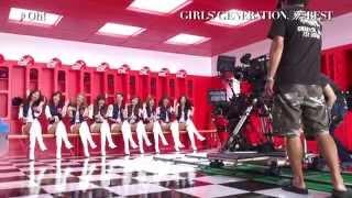 少女時代7/23発売「THE BEST」初回限定盤のみ収録 全PVのメイキング映像集