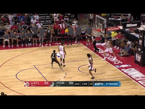 2nd Quarter, One Box Video: Portland Trail Blazers vs. Atlanta Hawks