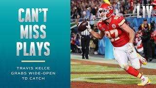 Chiefs Close the Gap w/ Wide-Open TD to Travis Kelce | Super Bowl LIV