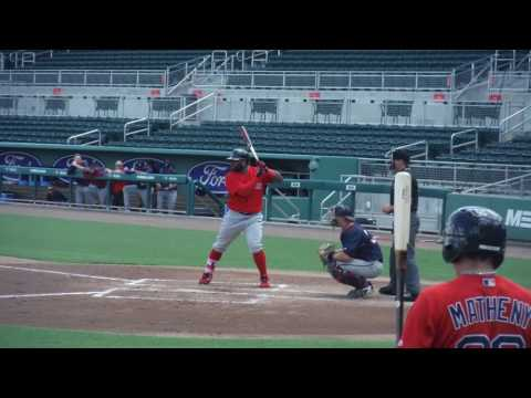 Pablo Sandoval hitting in Instructs 9/23/2016