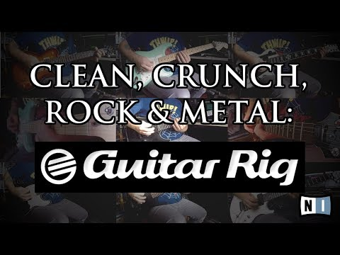 Clean, crunch, rock & metal: Guitar Rig 5 by Native Instruments