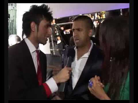 Jay Sean funniest Interview With Salman Malik  UK AMA London 2009 ( Speaking Punjabi First time)