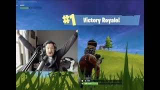 MY FIRST SOLO WIN FORTNITE