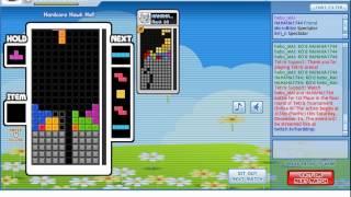 Tetris Tournament Online 3 Grand Final HAHAHA1744 vs hebo_MAI
