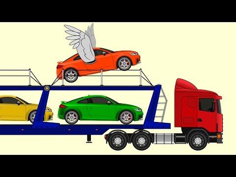 Мультики про машинки - Развивающий мультик про автовоз