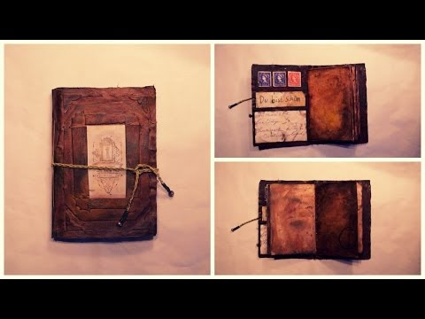 DIY Vintage Journal