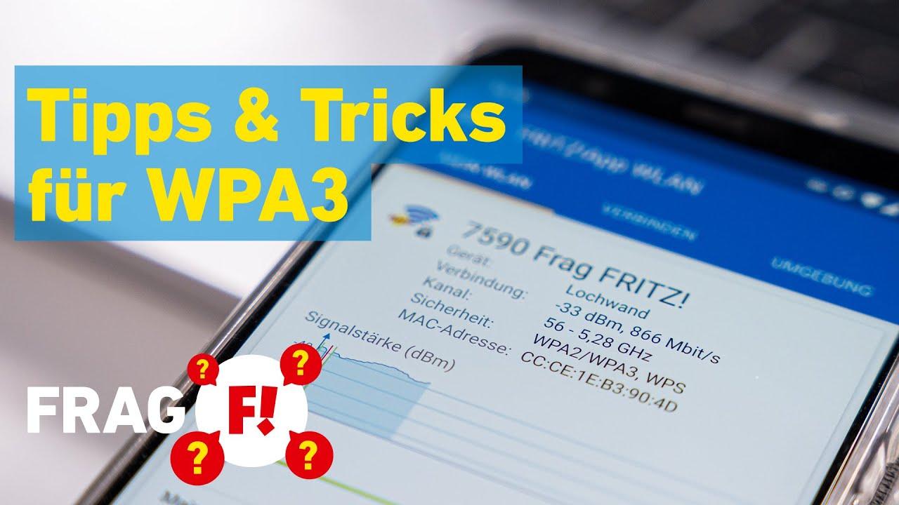 WPA3: Tipps & Tricks für die Einrichtung | Frag FRITZ! 027