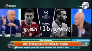 Bayern Münih VS BEŞİKTAŞ - Ahmet Çakar Yorumları Beyaz Futbol