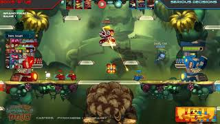 "Super Awesomenauts Dojo Game 9 - Boys ""R"" Us vs Serious Decisions"