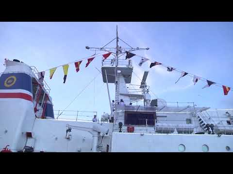 Offshore Patrol Vessel CG 60 commissioned as Sri Lanka Coast Guard Ship Suraksha