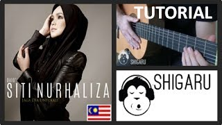 "How to Play ""Jaga Dia Untukku"" by Siti Nurhaliza (Malaysian Pop - Guitar Tutorial/Lesson)"