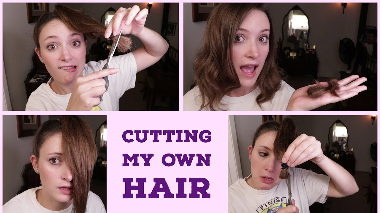 Cutting My Own Hair! Does the Ponytail Method Work?