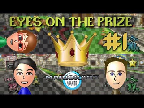 Mario Kart Wii - Eyes on the Prize #1 ~ Quad Controller Mayhem!