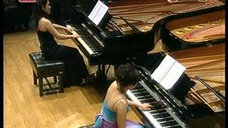 Liszt - Hungarian Rhapsody No. 2 for four pianos