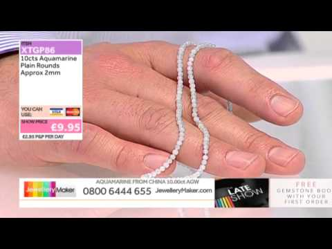 Magnesite on The Late Show with Ed McKay (JewelleryMaker) LIVE 30/09/2014