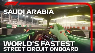 FIRST LOOK: Onboard Lap At The Brand New Jeddah Street Circuit
