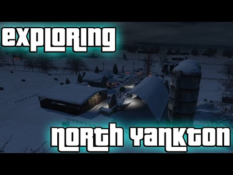 Exploring North Yankton (GTA V)