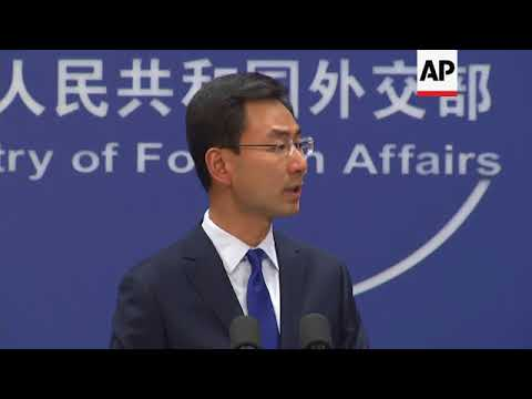 China foreign ministry on Koreas and South China Sea