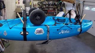 Kayak Hoist with Harbor Freight Winch.