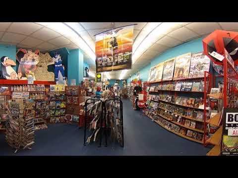 Zanadu Comics 360 Video Tour SeattlePI.com