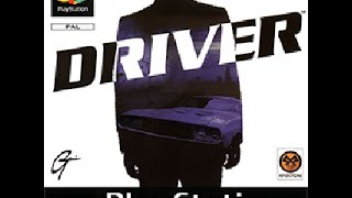 Driver - PS1 game (recorded with PS2)