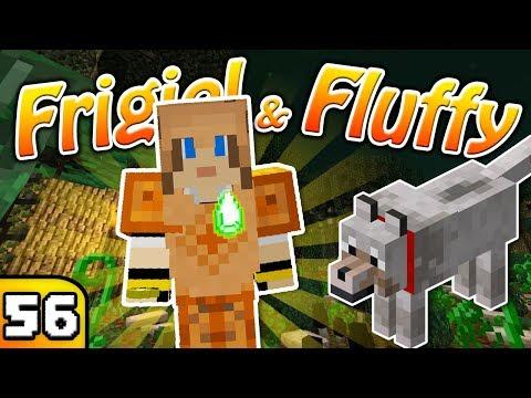 FRIGIEL & FLUFFY : L'amulette de protection | Minecraft - S6 Ep.56