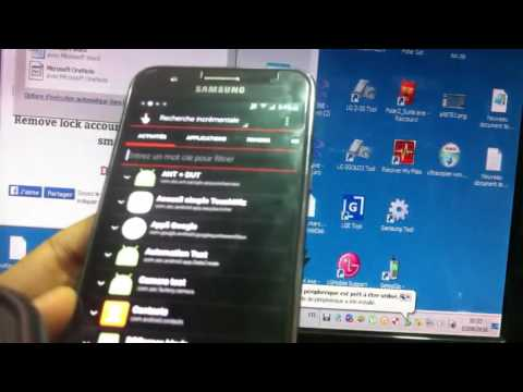 Remove lock account google on all samsung smartphone by nckreader com   YouTube