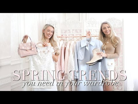SPRING TRENDS YOU NEED IN YOUR WARDROBE ~ WITH FASHION MUMBLR ~ Freddy My Love