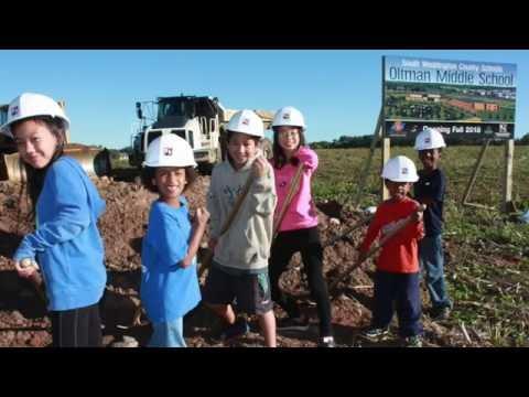 New Oltman Middle School Groundbreaking