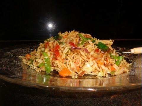 How to make veg chinese fried rice restaurant style rec in hindi how to make veg chinese fried rice restaurant style rec in hindi ccuart Images
